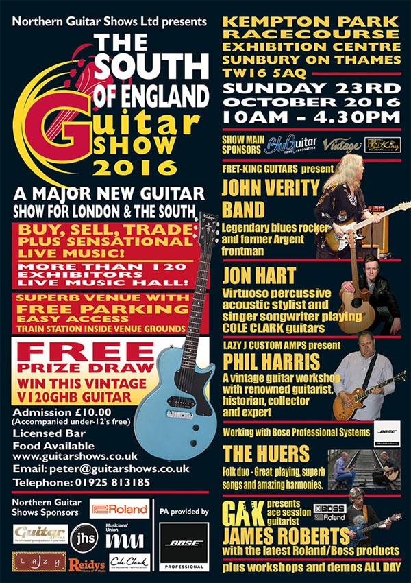 Southern Guitar Show 2016
